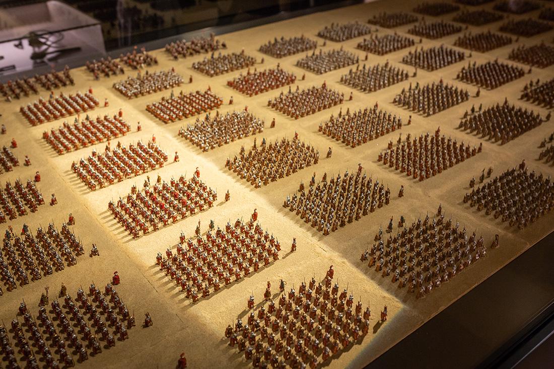 Šesťtisícová rímska légia v múzeu Lauriacum. Foto: Miro Pochyba