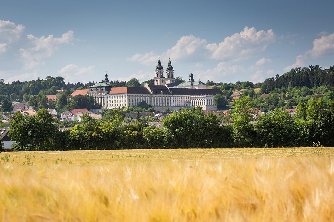 Najväčší kláštor v Hornom Rakúsku. Foto: Miro Pochyba