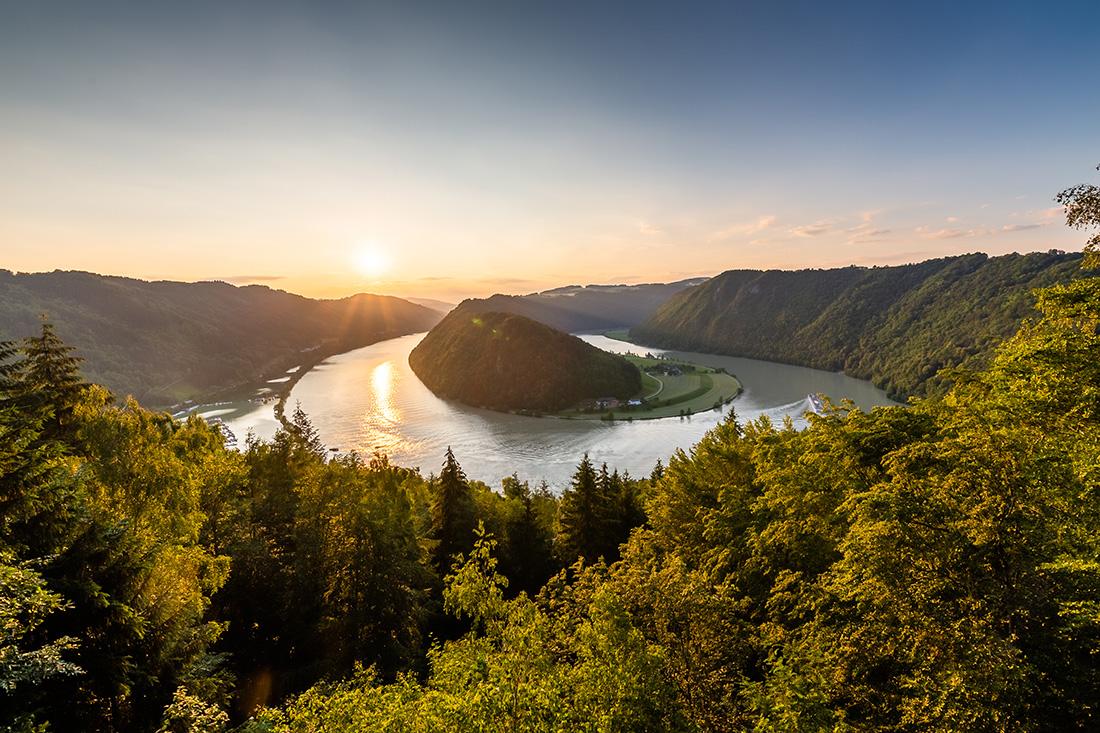 Donauschlinge v Hornom Rakúsku. Foto: Miro Pochyba