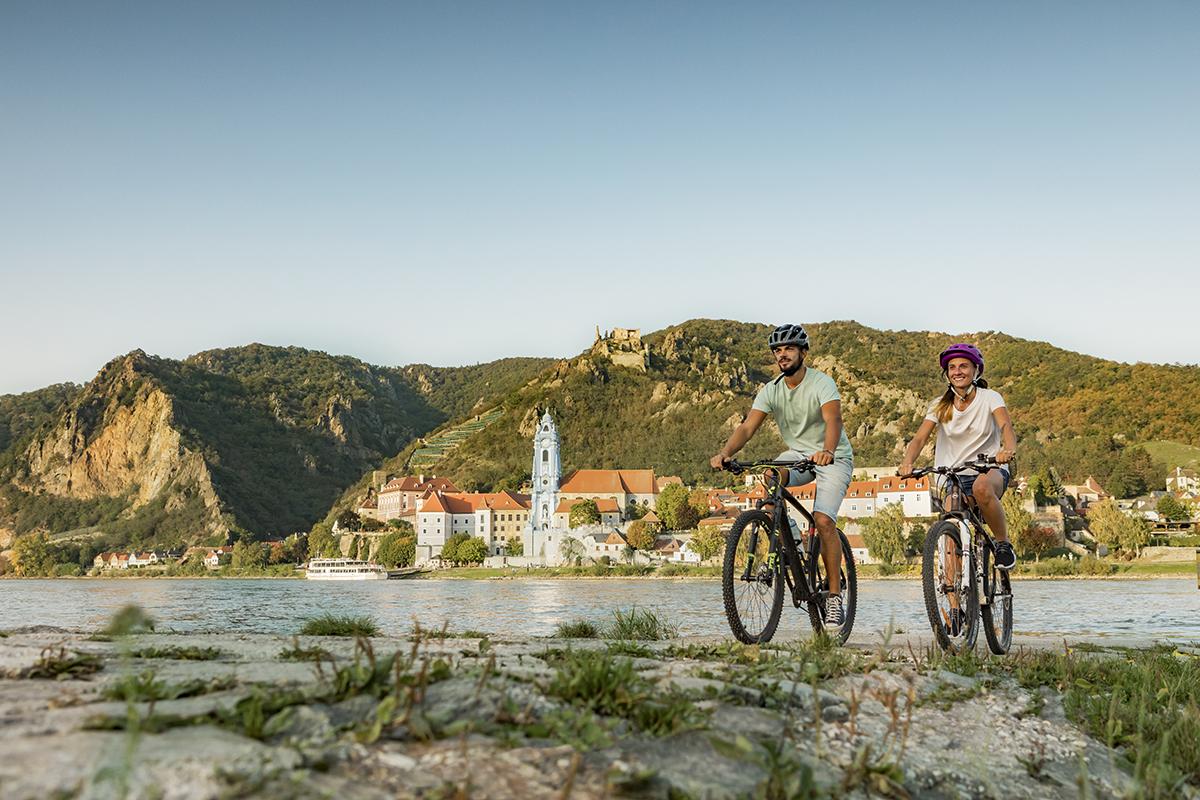 Dunajská cyklotrasa. Foto: (c) Niederösterreich Werbung/ David Schreiber