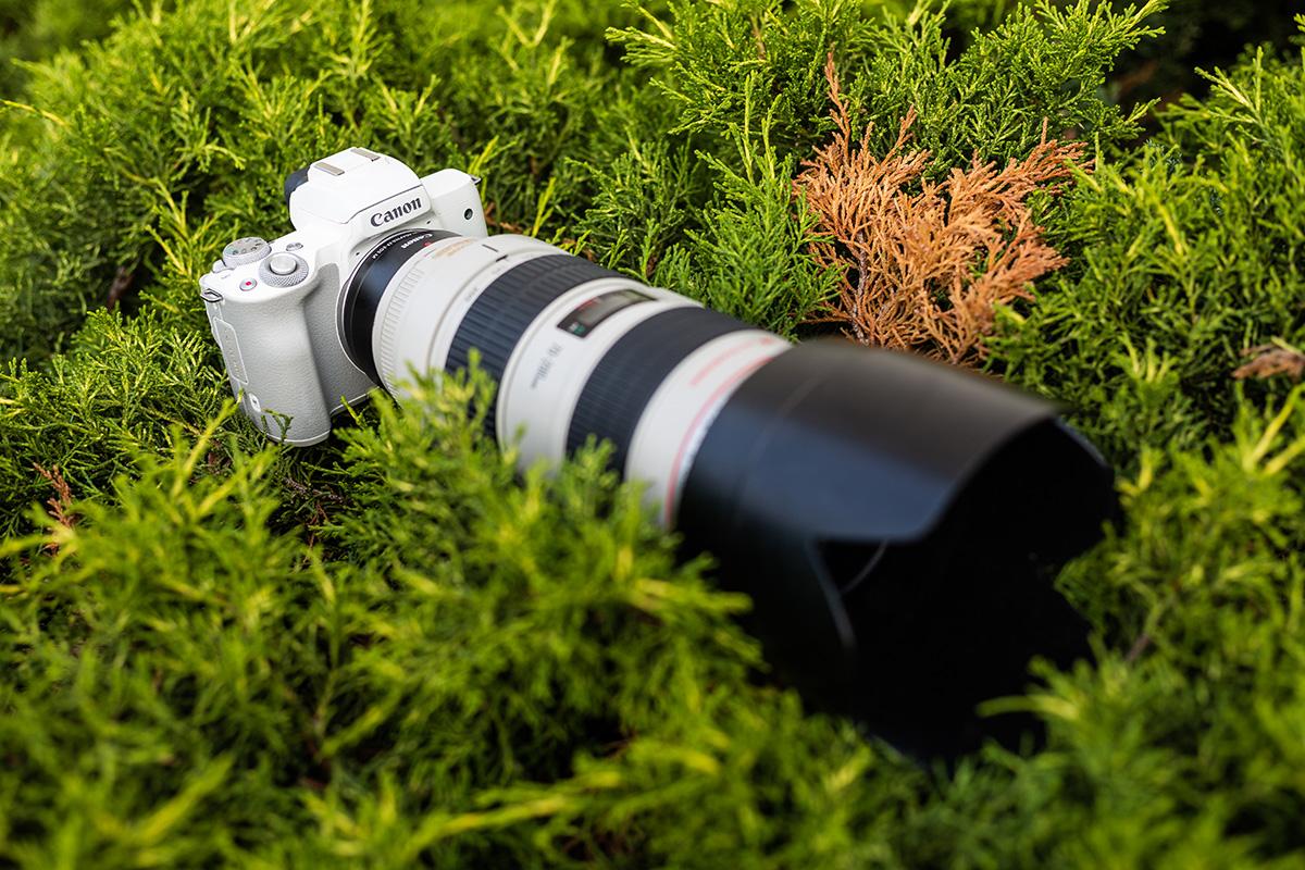 Bezzrkadlovka Canon EOS M50
