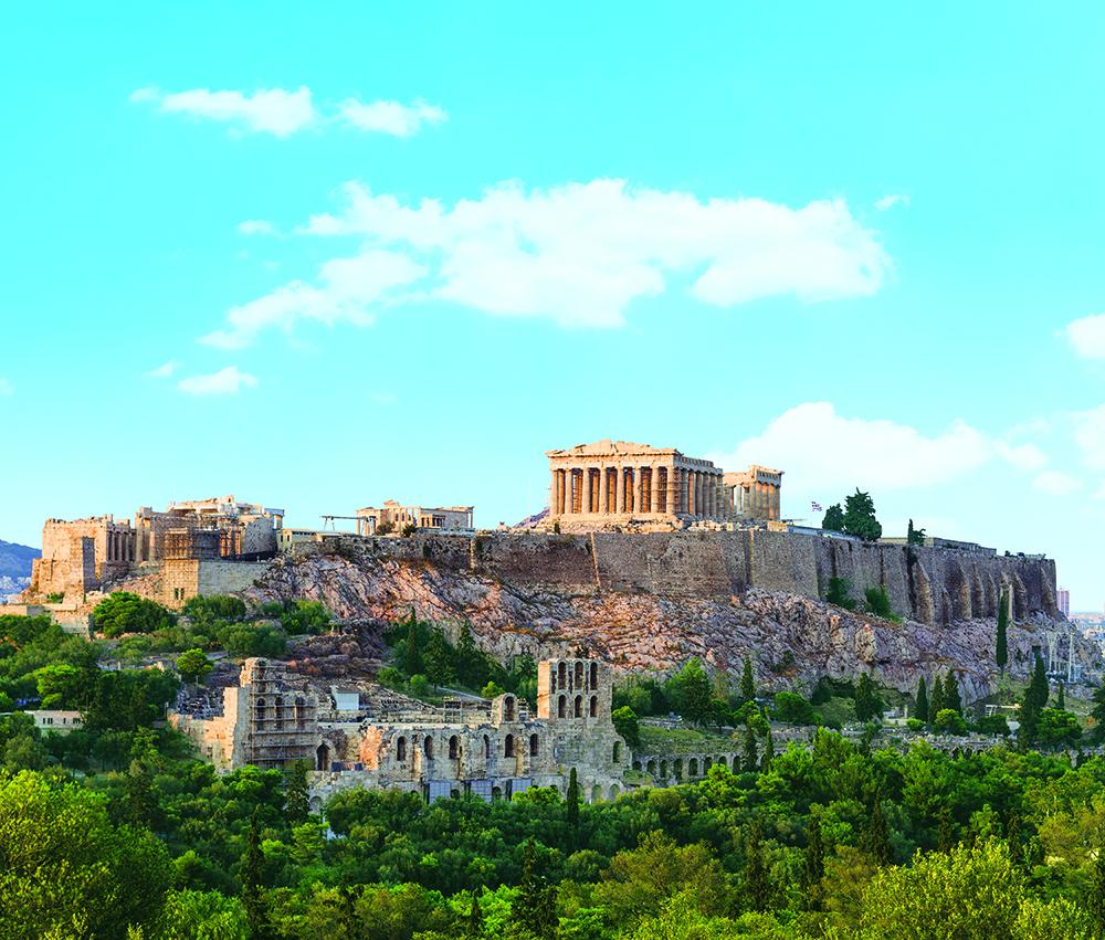 Akropola v Aténach. Foto: Shutterstock