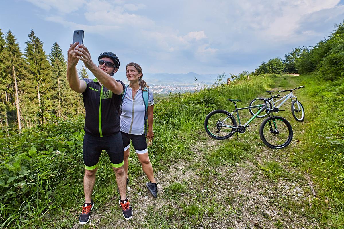 Cyklovýlet na Martinské hole. Foto: Peter Drežík