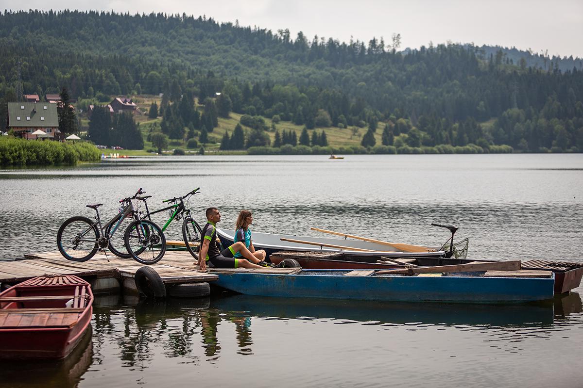 Palcmanská maša na Dedinkách v Slovenskom raji je najstudenšou priehradou na Slovensku. Foto: Miro Pochyba
