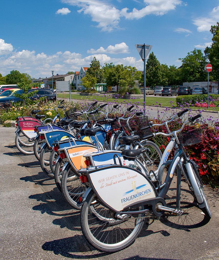Bicykle sa dajú požičiavať veľmi jednoducho a odovzdať ich môžete aj na inom mieste, ako ste si ho požičali.
