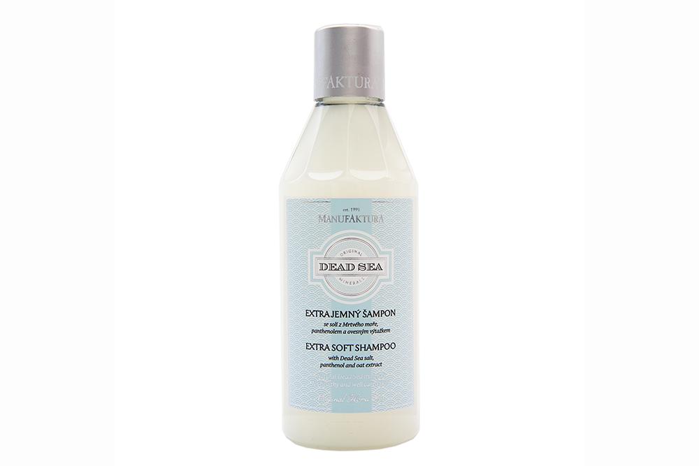 Extra jemný šampón so soľou z Mŕtveho mora, panthenolom a ovseným výtažkom