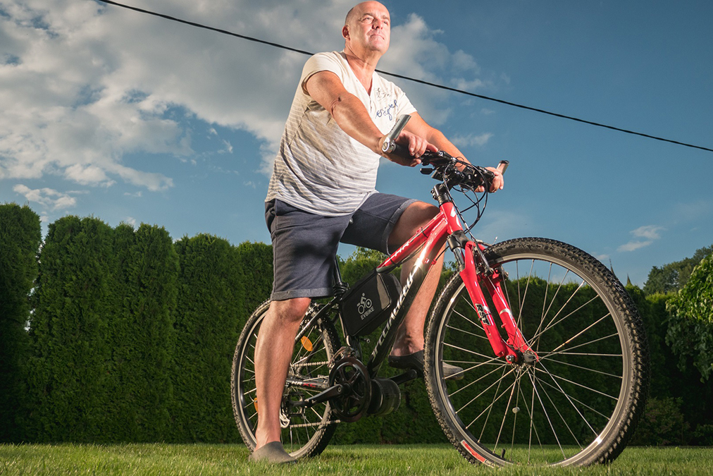 Ako prerobiť bicykel na ebike.