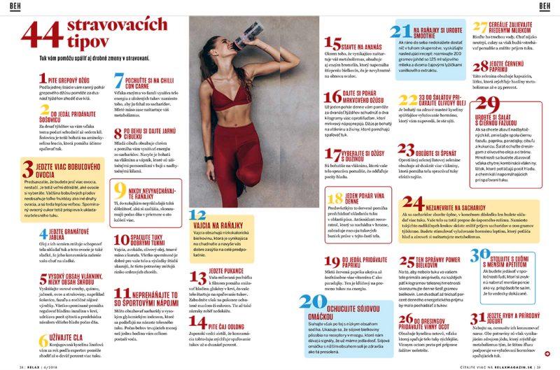 44 stravovacích tipov, ako sa zbavíte tuku