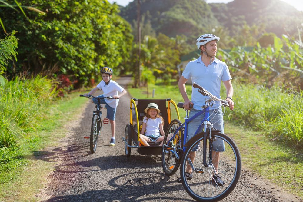Jazdu s cyklovozíkom zvládne každý. Foto: Shutterstock