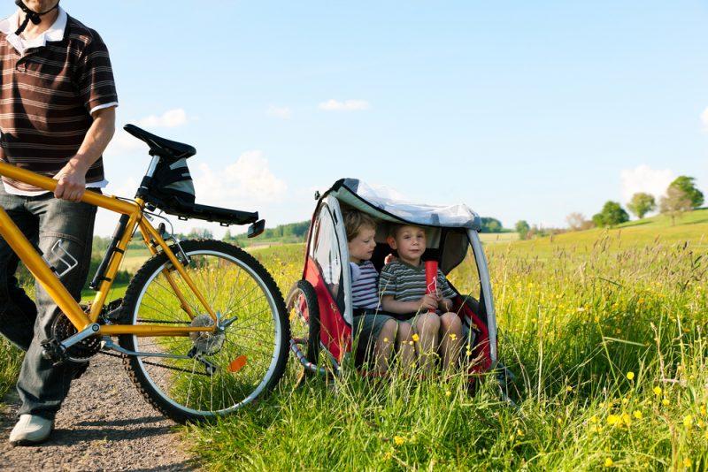Cyklovozík je síce možno trochu väčšia investícia než kočiar, ale má aj viac možností využitia. Foto: Shutterstock