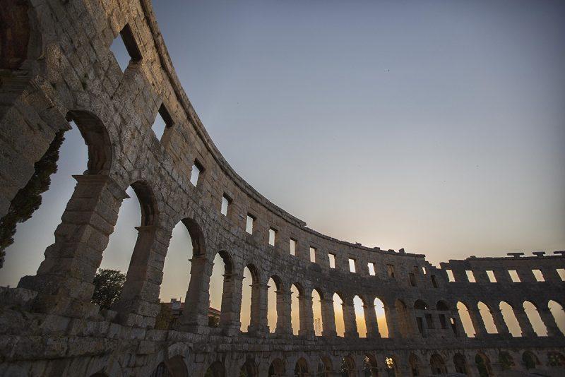 V Pule na Istrii nájdete aj majestátne koloseum. Foto: Archív Chorvátskeho turistického združenia