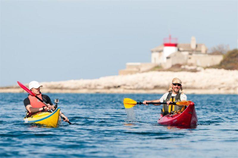 V Chorvátsku si športovci prídu na svoje. Prebádať sa oplatí aj Kamenjak a Premanturu. Foto: Archív Chorvátskeho turistického združenia