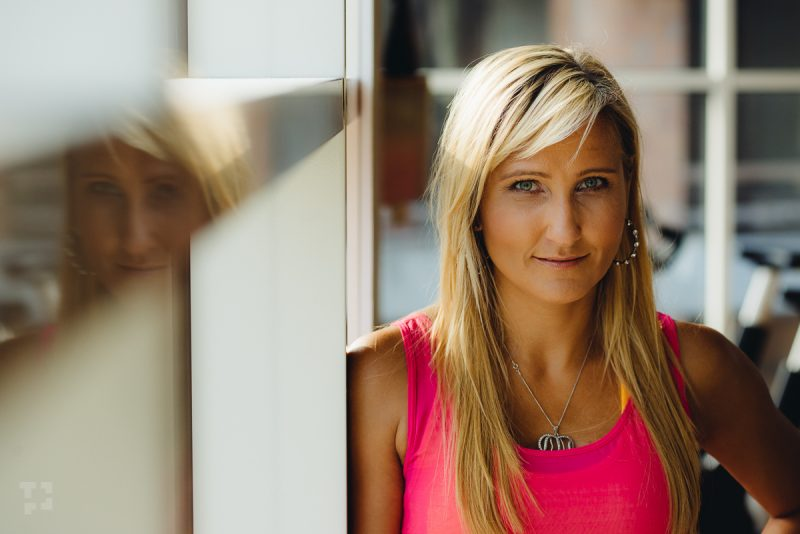 Trénerka bodyART Lea Grančič. Foto: Pospo