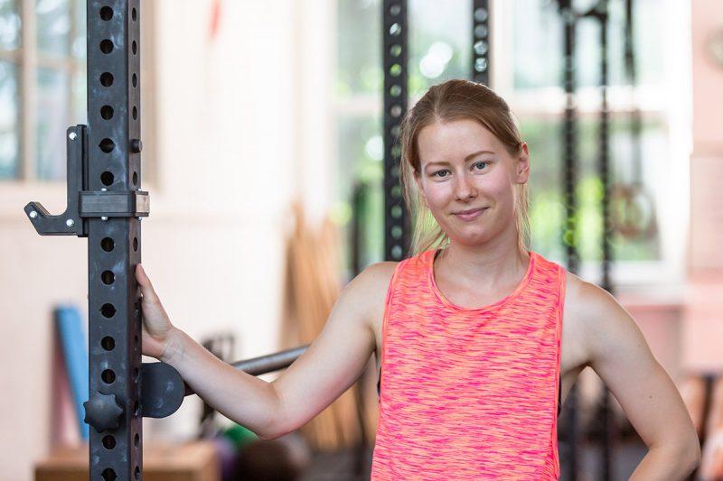 Trénerka Monika Verešová. Foto: Miro Pochyba