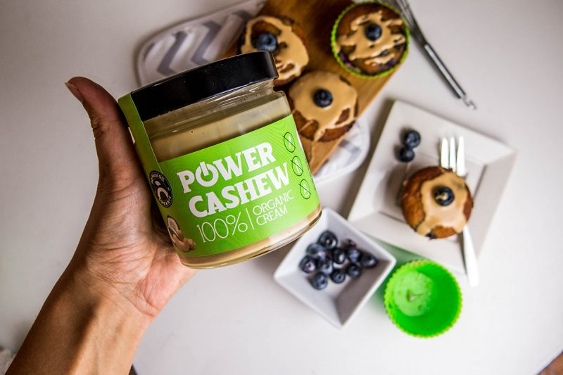 Špeciálna ingrediencia: Power Cashew krém. Foto: Powerlogy