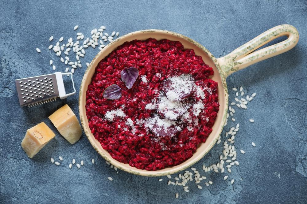 Cviklové rizoto. Foto: Shutterstock