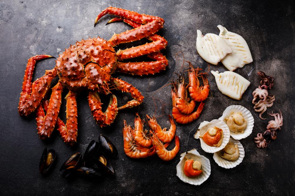 Morské plody. Foto: Shutterstock