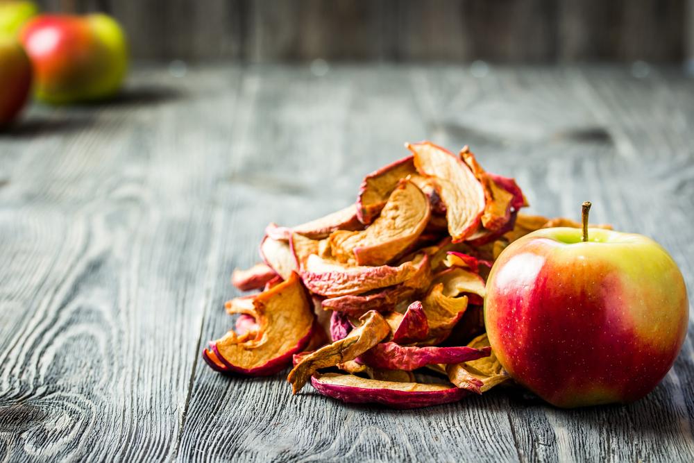 Sušené jablko. Foto: Shutterstock