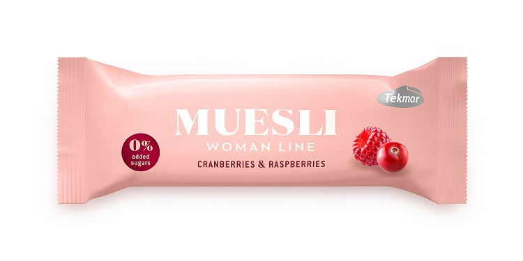Muesli tyčinka Cranberries & raspberries