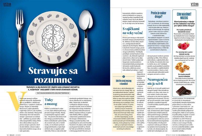 Nový stravovací režim pomôže zlepšiť schopnosť sústrediť sa, aj vyšperkovať pamäť.