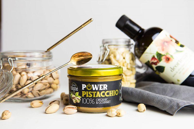 Pistáciový krém pre gurmánov s výborným vplyvom na metabolizmus a trávenie. Foto: Powerlogy