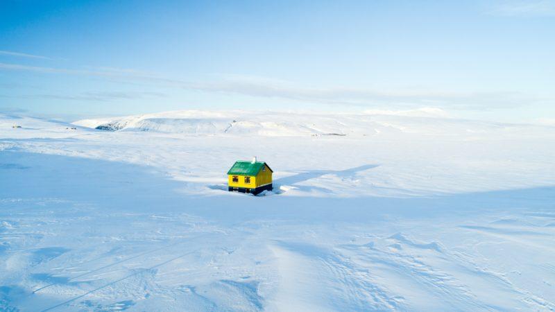Dom na Islande - v strede ničoho. Foto: Shutterstock