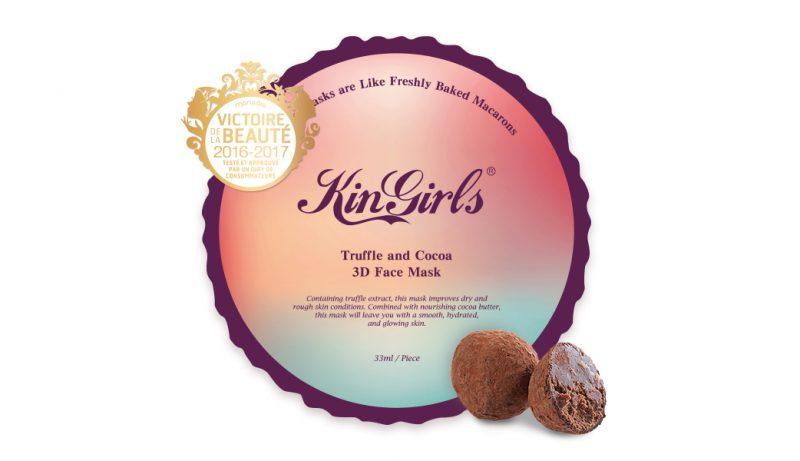 KinGirls maska s extraktom z hľuzovky a kakaového masla