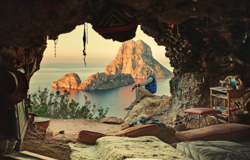 Jaskyňa hipisákov na Ibize. Foto: Shutterstock