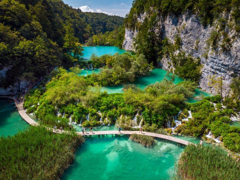 Plitvické jazerá. Foto: Shutterstock