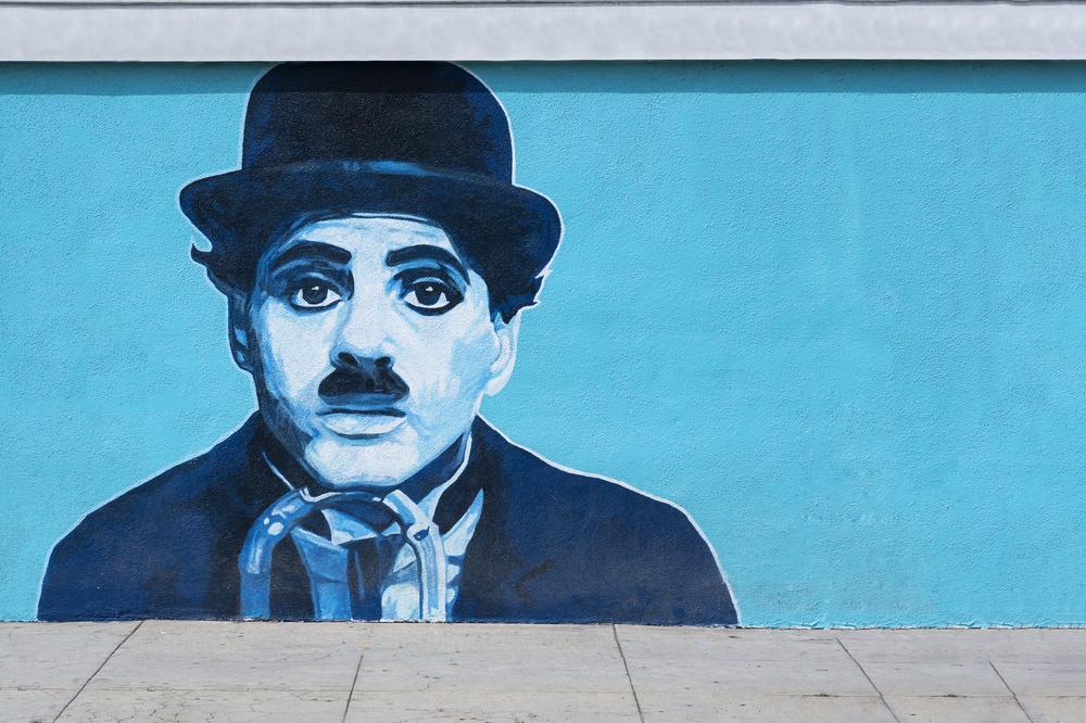 Charlie Chaplin. Foto: Shutterstock