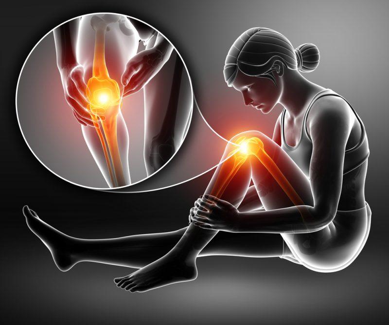 Bolesti kolena sú spôsobené väčšinou nesprávnou technikou či preťažovaním sa. Foto: Shutterstock
