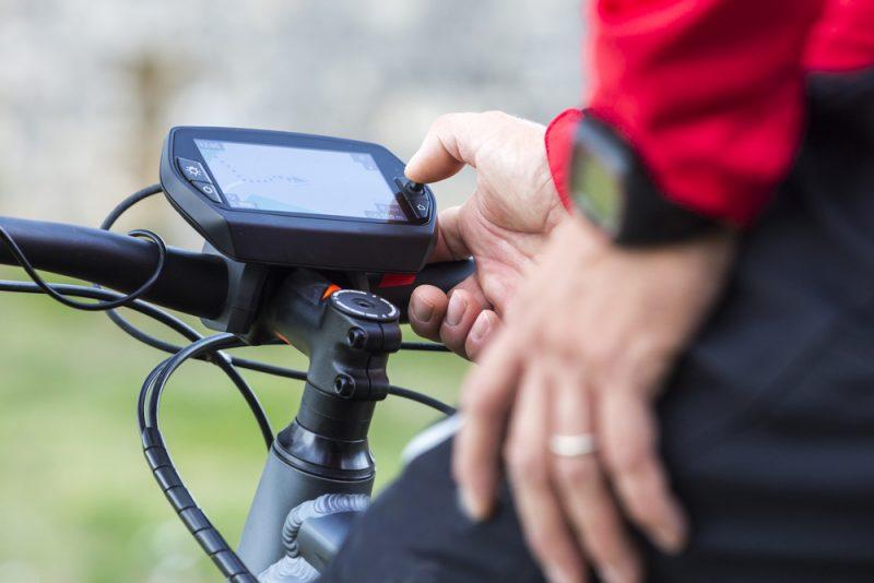 Elektronika na bike. Foto: Shutterstock