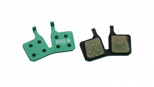 Brzdové platničky pre e-bike HP organic BBB