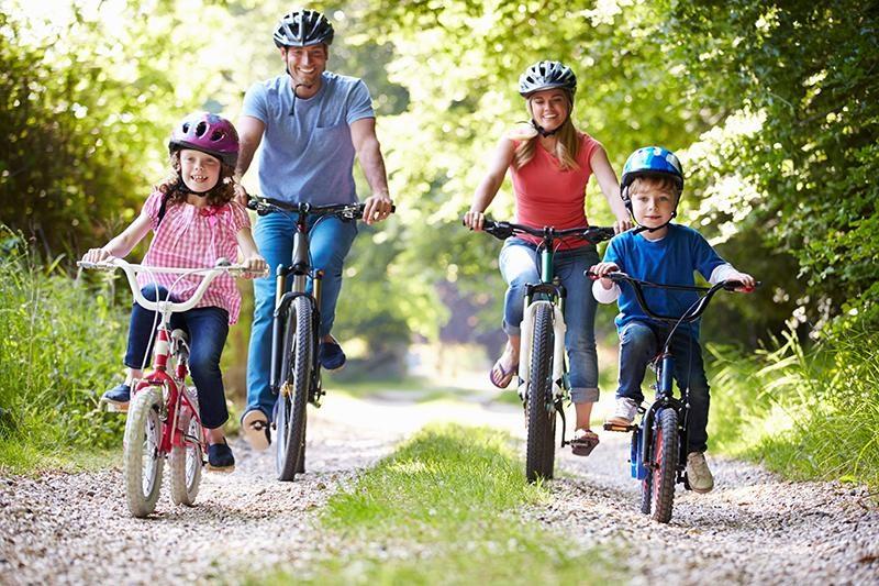 Rodinné cyklovýlety. Foto: Shutterstock