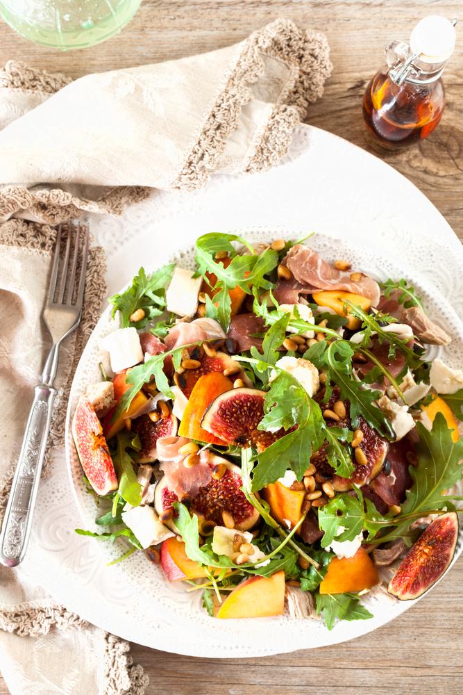 Recept na figový šalát s rukolou. Foto: Shutterstock