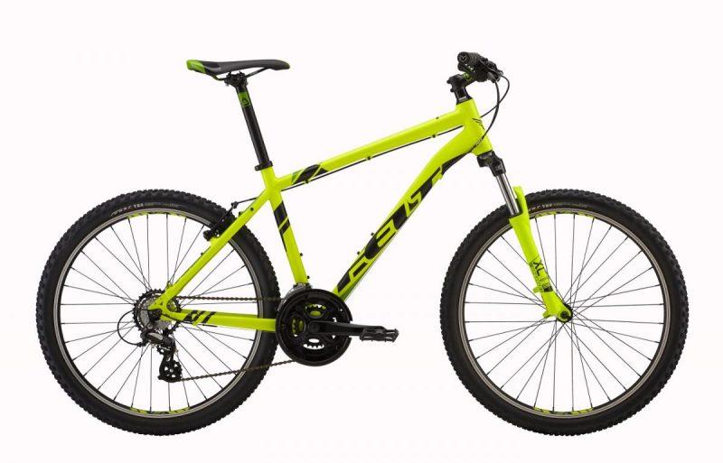 Žltý detský bicykel Felt