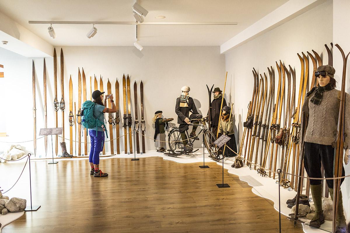 Ski múzeum v Tatranskej Lomnici. Foto: Miro Pochyba