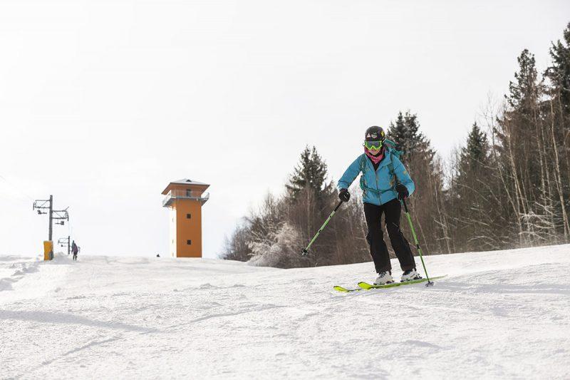 Lyžiarske stredisko Polomka – Bučník,ktoré nás veľmi príjemne prekvapilo. Foto: Miro Pochyba