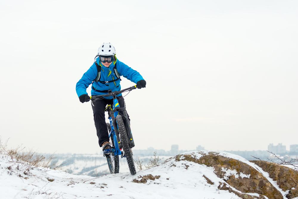 Cyklo-zima. Foto: Shutterstock
