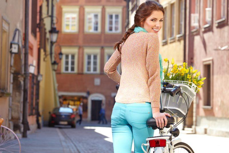 Nebojte sa zájsť bicyklom na nákup. Foto: Shutterstock
