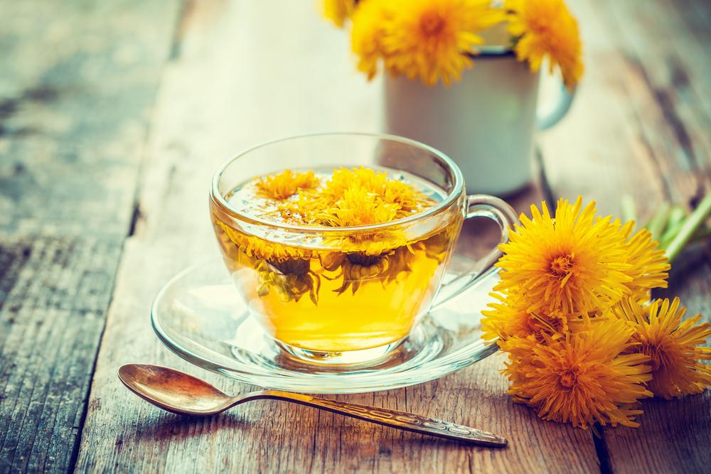 Púpavový čaj. Foto: Shutterstock