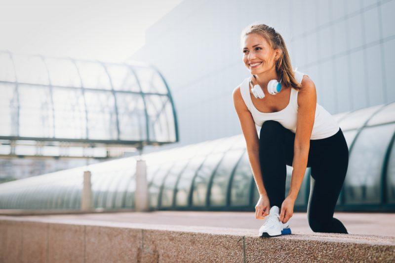 Behaním posilníte aj kosti. Foto: Shutterstock