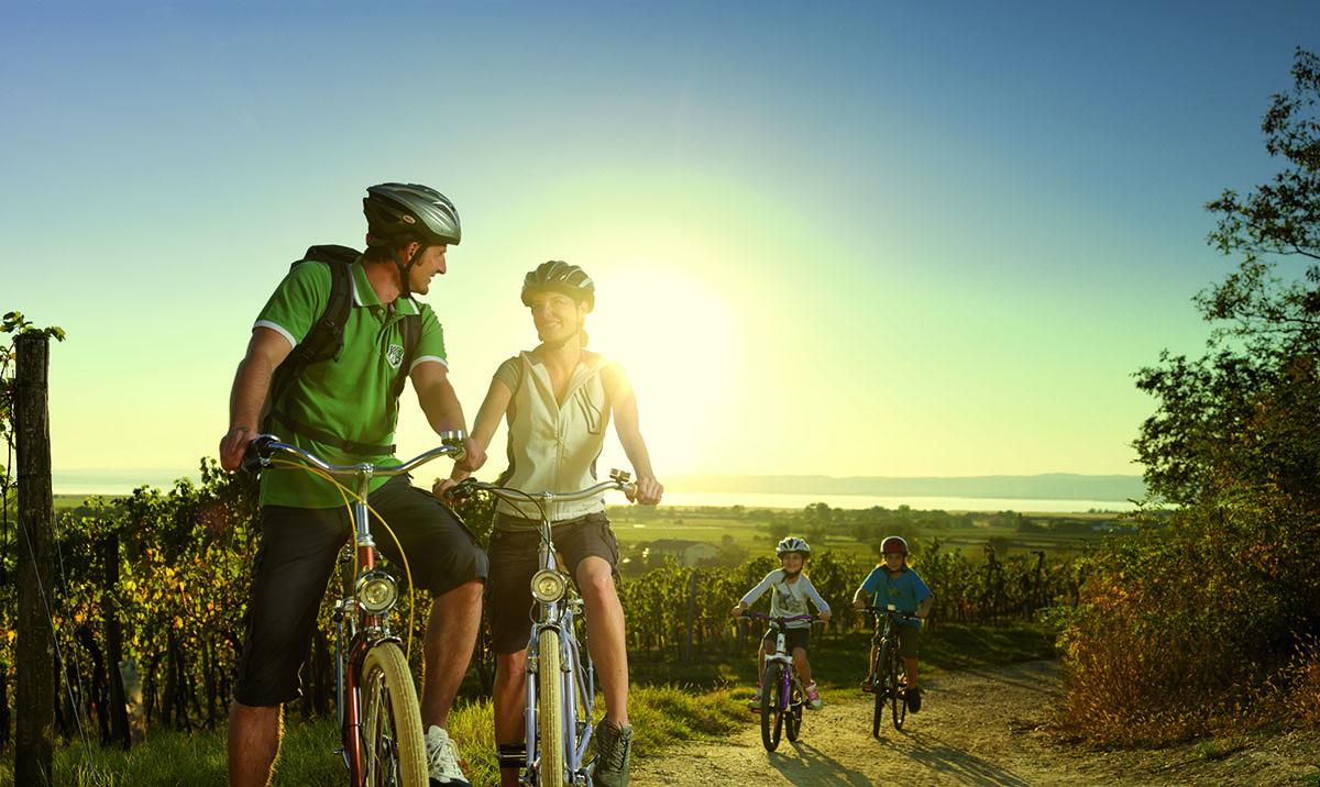 Bicyklovanie v Burgenlande. Foto: Burgenland Tourismus, Peter Burgstaller