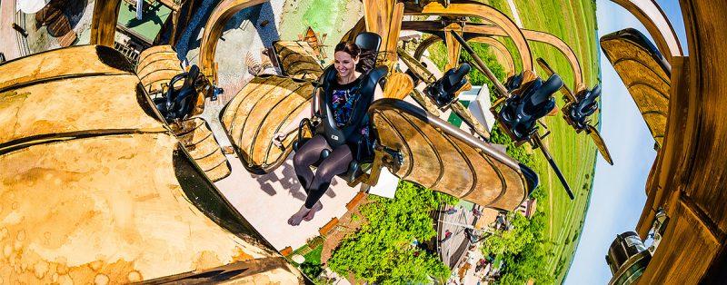 Leonardov lietajúci stroj v zábavnom parku Familypark. Foto: M. Matula