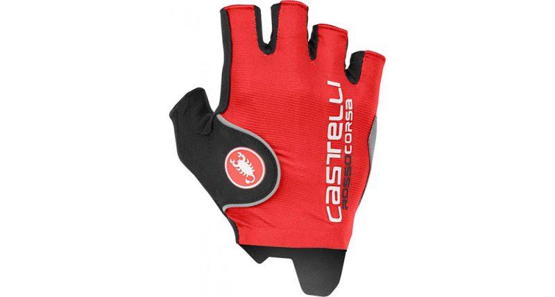 Pánske cyklistocké rukavice Castelli Rosso Corsa