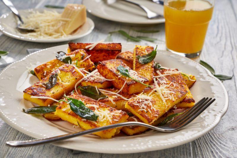 Kukuričná polenta. Foto: Shutterstock