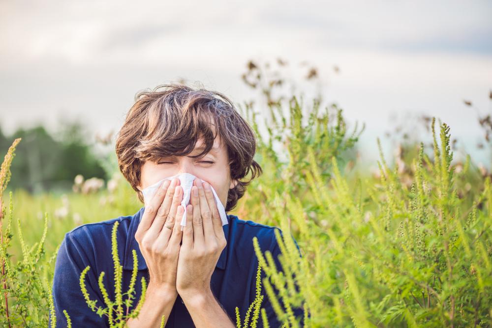 Letná nádcha. Foto: Shutterstock