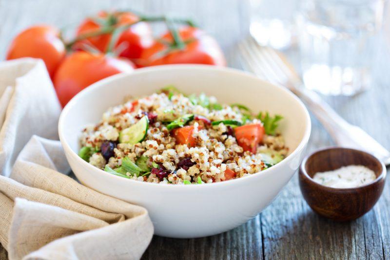 Quinoa neobsahuje lepok,naopak, má veľkú výživnú hodnotua veľa vlákniny. Foto: Shutterstock