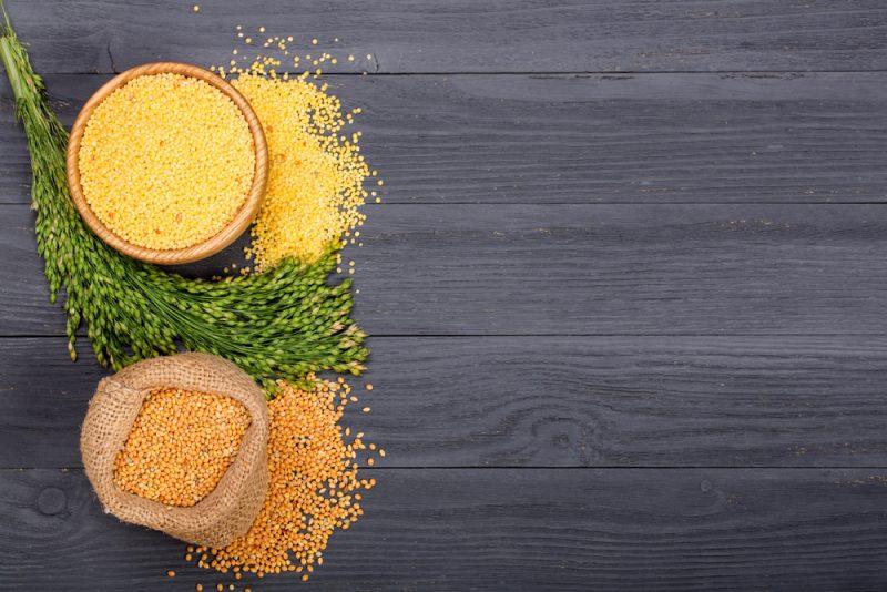 Pšeno je proso bez šupiek. Foto: Shutterstock