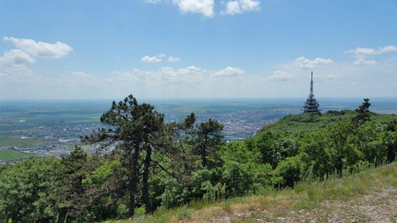 Krásny výhľad zo Zobora.